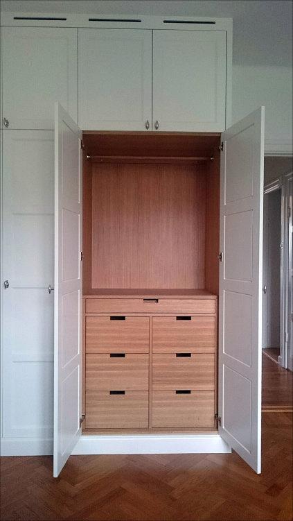 Platsbyggda garderober